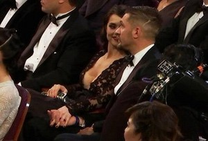 Tom & charlotte at the Oscars