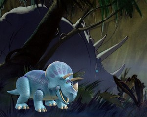 Trixie e il triceratopo di Fantasia