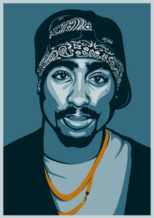 Tupac Amaru Shakur ( June 16, 1971 – September 13, 1996)