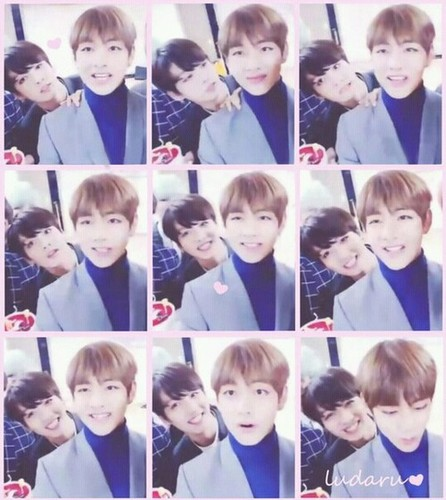 "VKook (BTS) wallpaper called V/ Kookie *-**""˜˜""*°•.ƸӜƷ"