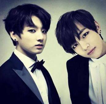 "VKook (BTS) Обои probably with a business suit, a suit, and a well dressed person entitled V/ Kookie *-**""˜˜""*°•.ƸӜƷ"