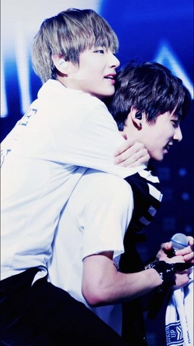 VKook (BTS) wallpaper titled VKook ♥