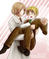 Valentine s day 2013. If this is MapleTea then I have two MapleTea pictures. - hetalia-couples fan art