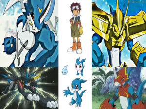 Veemon Digivolution