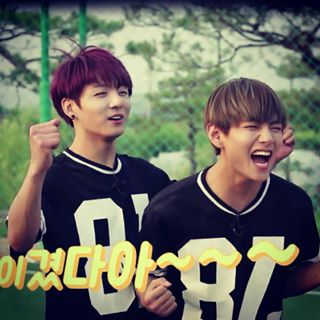 VKook (BTS) wallpaper titled Vkook♥–♥