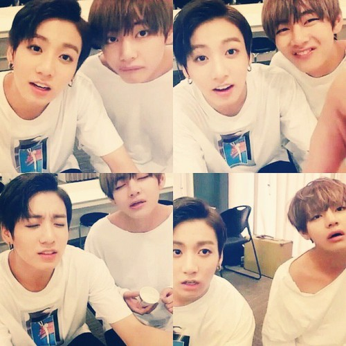 VKook (BTS) Обои entitled Vkook♥–♥
