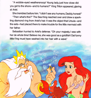 Walt disney Book gambar - The Little Mermaid: Ariel and the Mysterious World Above