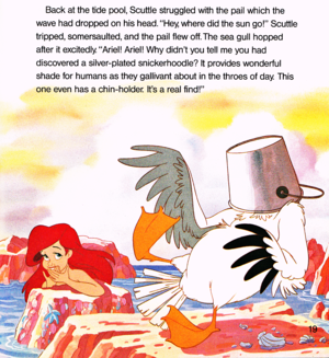 Walt Disney Book تصاویر - The Little Mermaid: Ariel and the Mysterious World Above