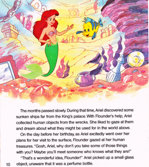 Walt Disney Book hình ảnh - The Little Mermaid: Ariel and the Mysterious World Above