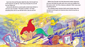 Walt Disney Book Scans - The Little Mermaid: Ariel and the Secret Grotto (English Version)