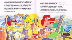 Walt 디즈니 Book Scans - The Little Mermaid: Ariel and the Secret Grotto (English Version)