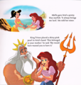 Walt ডিজনি Book Scans - The Little Mermaid: Ariel's Royal Wedding (English Version)
