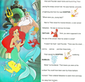 Walt Дисней Book Обои - The Little Mermaid: Golden Sound Story