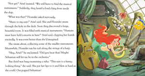 Walt Disney Book Scans - The Little Mermaid: squalo Surprise (English Version)