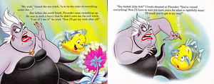 Walt Disney Book تصاویر - The Little Mermaid's Treasure Chest: An Undersea Wish