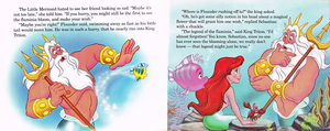Walt Disney Book larawan - The Little Mermaid's Treasure Chest: An Undersea Wish