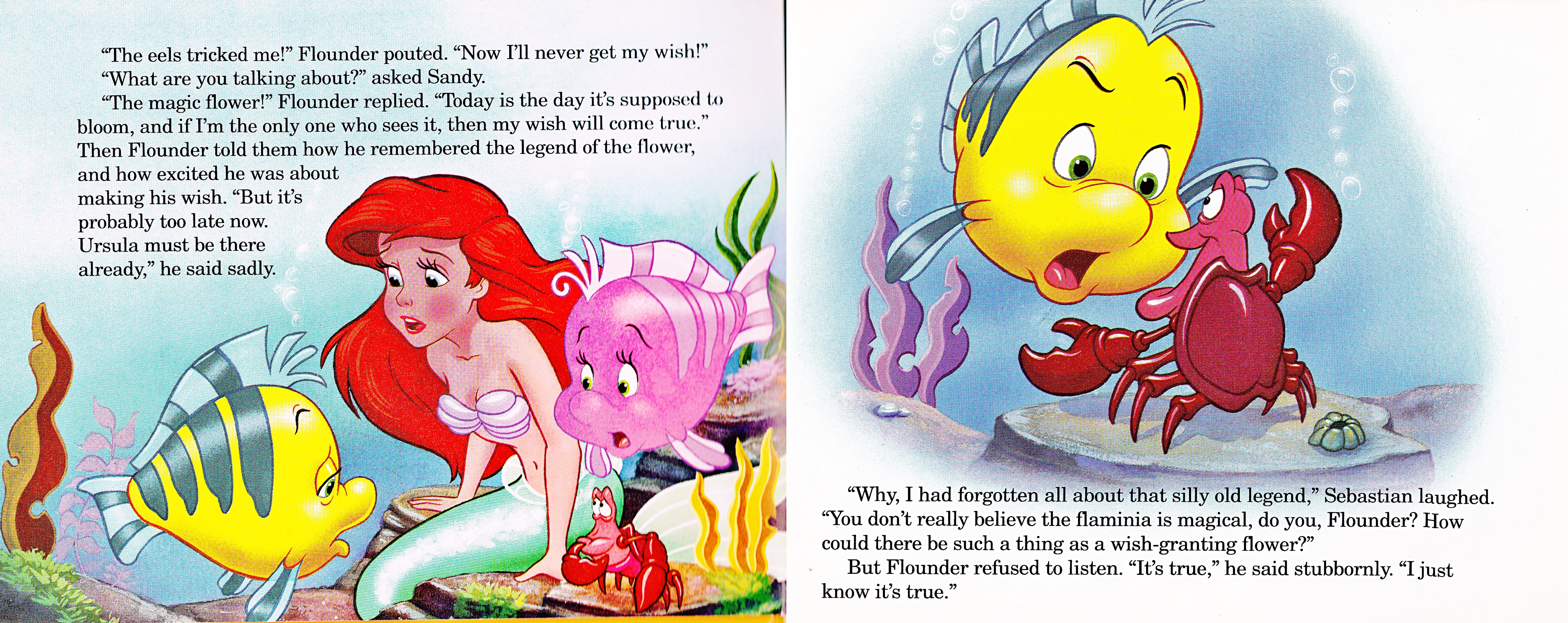 Walt Disney Book images - The Little Mermaid's Treasure Chest: An Undersea Wish