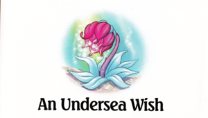 Walt Дисней Book Обои - The Little Mermaid's Treasure Chest: An Undersea Wish