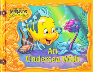 Walt disney Book imagens - The Little Mermaid's Treasure Chest: An Undersea Wish