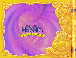Walt Disney Book Scans - The Little Mermaid's Treasure Chest: Dear Diary