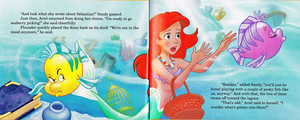 Walt 디즈니 Book Scans - The Little Mermaid's Treasure Chest: Dear Diary