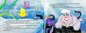Walt डिज़्नी Book Scans - The Little Mermaid's Treasure Chest: Dear Diary