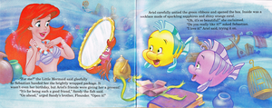 Walt Дисней Book Scans - The Little Mermaid's Treasure Chest: Dear Diary