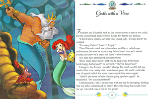 Walt ডিজনি বই - The Little Mermaid: My Side of the Story (Princess Ariel)