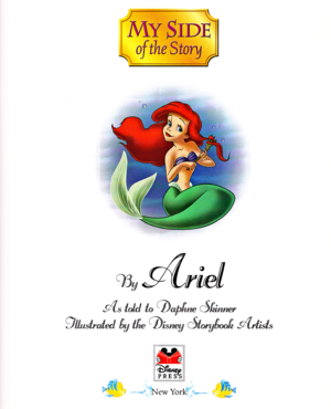 Walt डिज़्नी पुस्तकें - The Little Mermaid: My Side of the Story (Princess Ariel)