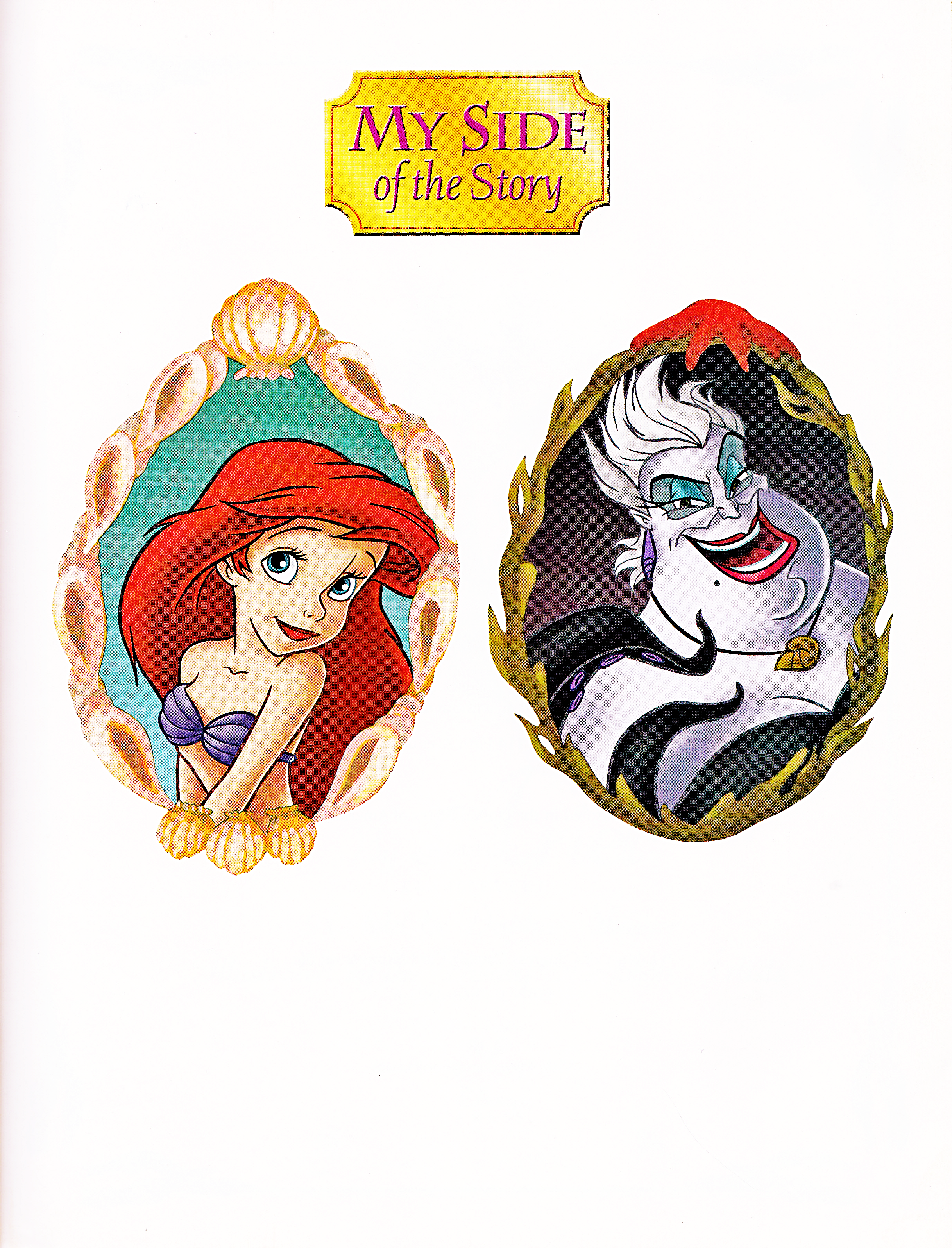 Walt Disney Books - The Little Mermaid: My Side of the Story (Princess Ariel)