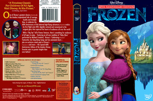 Walt Disney Pictures Presents 60th Anniversary Edition Of Frozen (2001) DVD