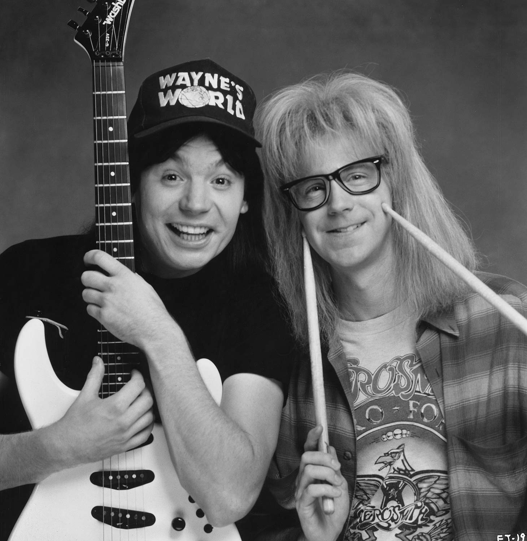 Wayne And Garth Waynes World Photo 39394300 Fanpop