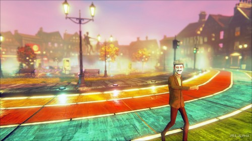 Video Games wallpaper probably with a street entitled We Happy Few | 1920x1080 Wallpaper