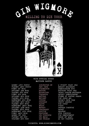 Willing To Die Tour Poster
