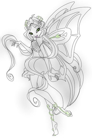 Winx club drawing of Enchantix
