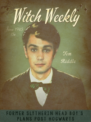 Tom M. Riddle | Witch Weekly | June 1945