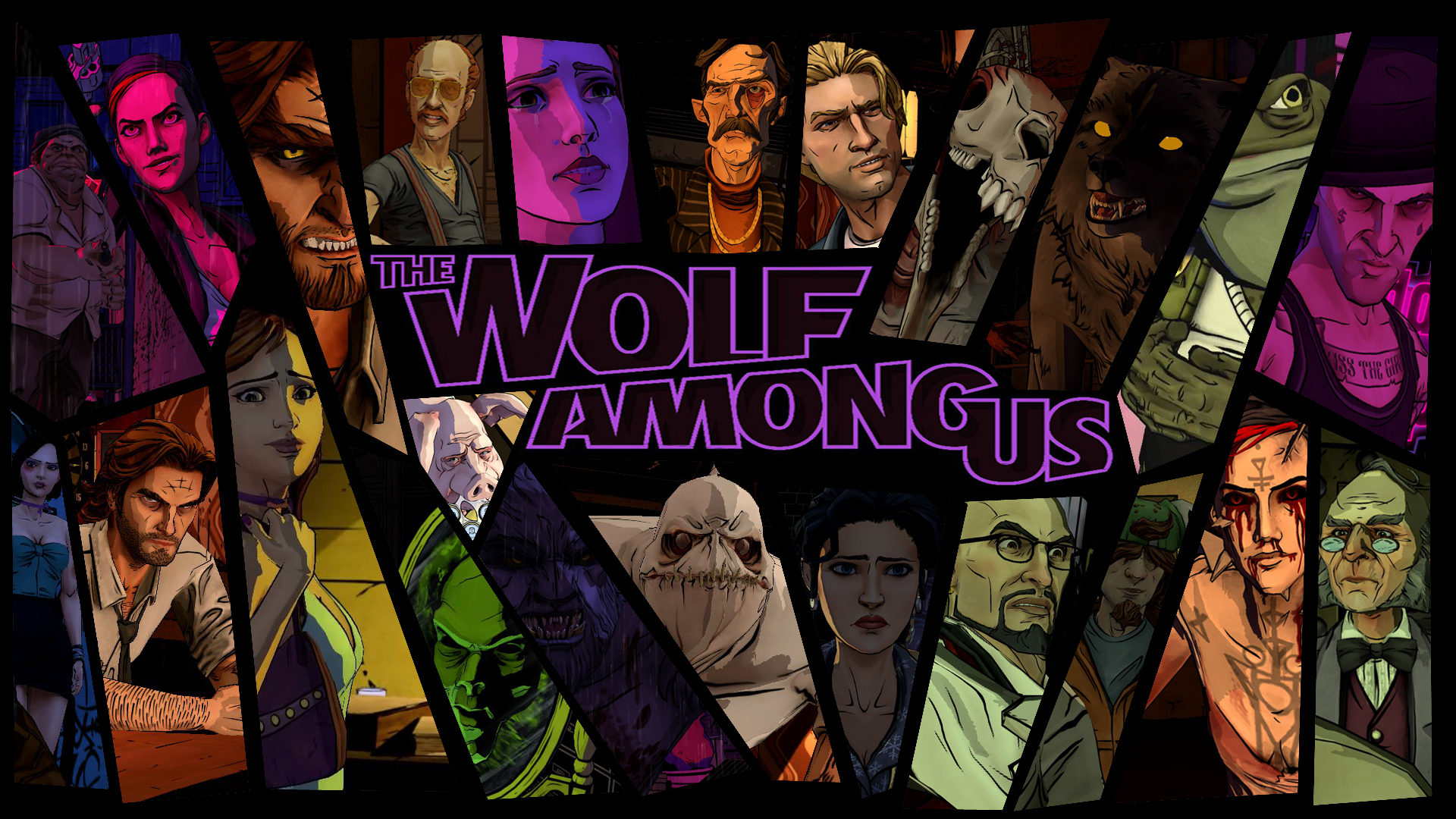 The Wolf Among Us Images Characters Wallpaper HD And Background Photos
