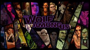 भेड़िया Among Us Characters वॉलपेपर