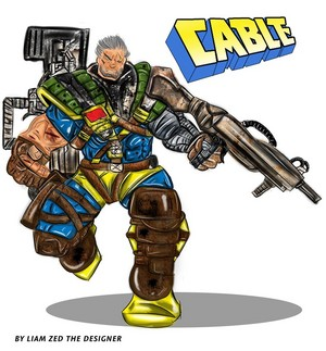 X Force Cable the Deadpool Partner EVO inspired