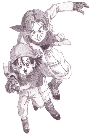 Yeah claim him as yours Panny trunks and pan 30613466