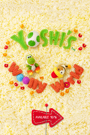 Yoshi's Wooly World Mobile 壁紙