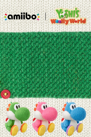 Yoshi's Wooly World Mobile wallpaper