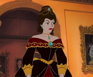 Young Lady Tremaine At A Ball