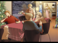 Yuletide. Nordic Christmas - hetalia fan art