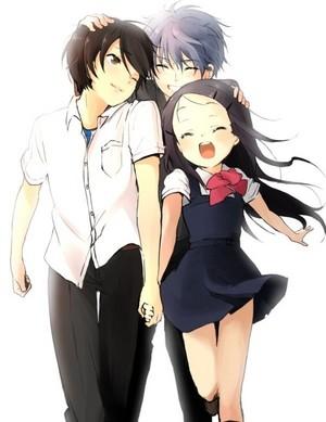 Yuu, Shunsuke, and Ayumi