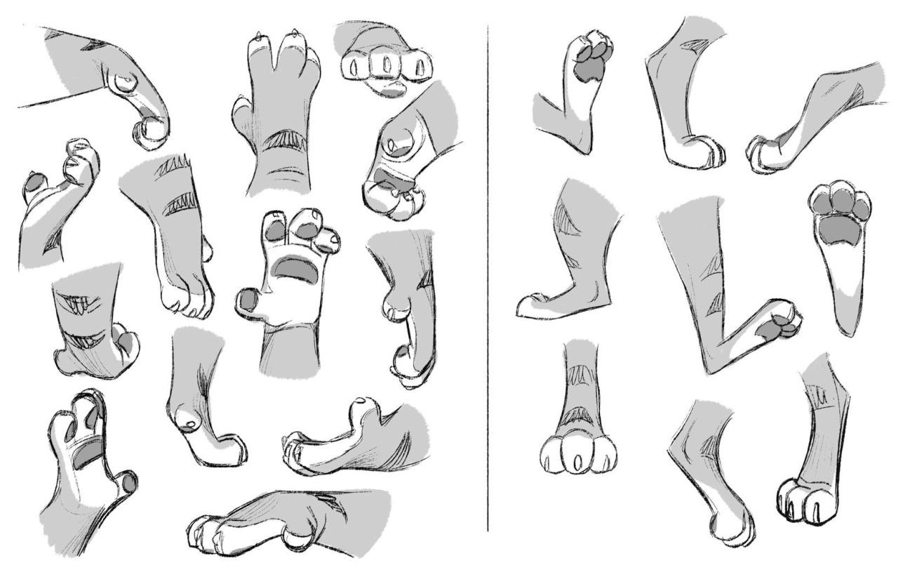 Zootopia Concept Art - Tiger Dancers