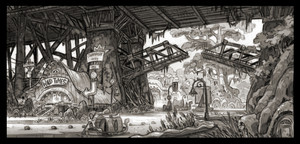 Zootopia Concept Art 의해 Matthias Lechner