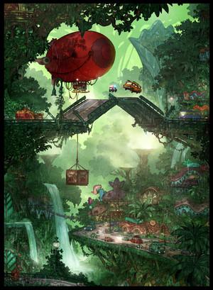 Zootopia Concept Art سے طرف کی Matthias Lechner