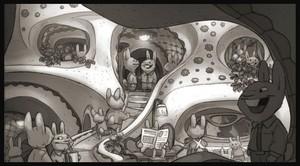 Zootopia Concept Art sa pamamagitan ng Matthias Lechner