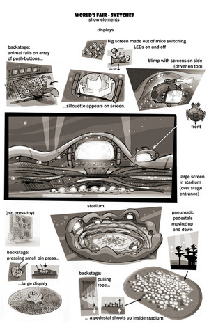 Zootopia Concept Art door Matthias Lechner